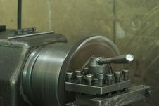 Steel Lathe Royalty Free Stock Photos