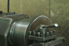 Free Steel Lathe Royalty Free Stock Photos - 5865708