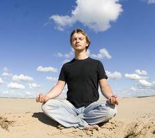 Free Meditation Royalty Free Stock Photo - 5866095