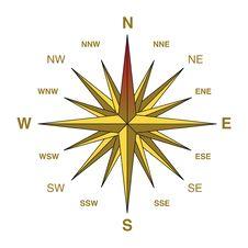 Free Yellow Compass Stock Photos - 5866373