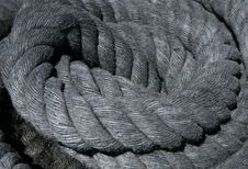 Thick Rope Royalty Free Stock Photography