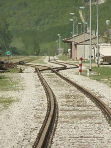 Free Railroad Tracks Stock Image - 5866991