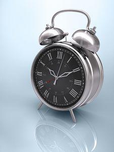 Classic Clock (Roman Numerals) Stock Photos