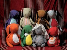 Free Soft Toys Royalty Free Stock Photos - 5867288