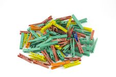 Free Pegs Stock Photography - 5867472