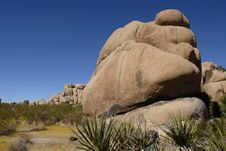Free Rock Formations At Joshua Tree National Park, Cali Stock Photography - 5867682