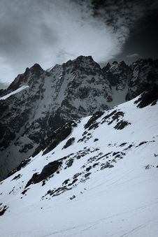 Free High Tatras In Winter Royalty Free Stock Image - 5869016