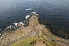 Free Giant S Causeway From Sky Stock Photo - 5869500