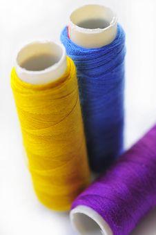 Free Spool Of Thread Macro Stock Image - 5869751