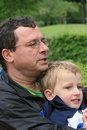 Free Father And Young Son Stock Photography - 5870222
