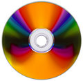 Free Compact Disk Isolated On White Royalty Free Stock Images - 5872569