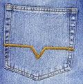 Free Jean Pocket Royalty Free Stock Photo - 5872605