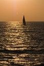 Free Yacht On Sunset Stock Photo - 5879970