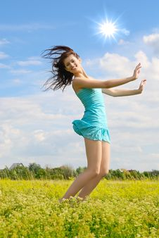 Free Happy Girl Stock Image - 5870361