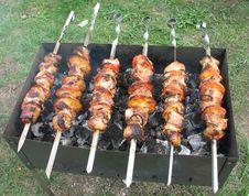 Free Shish Kebab Royalty Free Stock Image - 5870556