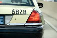 Free Taxi Cab Royalty Free Stock Image - 5870956