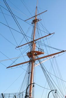 Free Tall Ships Rigging Stock Photos - 5871123