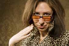 Free Hispanic Woman With Attitude Stock Photography - 5871162