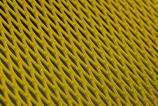 Free Yellow Metal Grid Royalty Free Stock Photo - 5871395