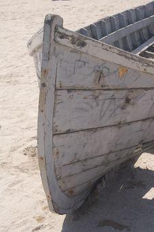 Fishing Boat On Beach Royalty Free Stock Image