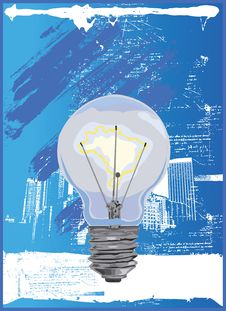 Free Lightbulb O Rama. Stock Image - 5871941