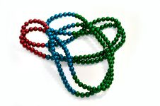Free Colorful Beads Royalty Free Stock Image - 5871966