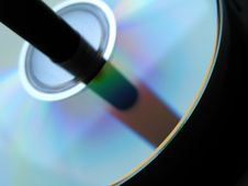Free Cd Detail Royalty Free Stock Photo - 5872125