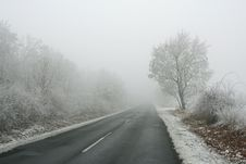 Free Winter Road Stock Images - 5872724