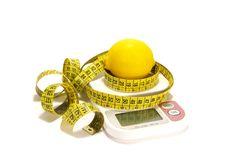 Free Lemon And Tape Measure Stock Photos - 5872903