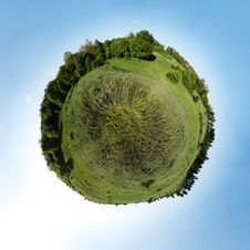 Field Planet Royalty Free Stock Images