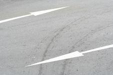 Free Road Direction Arrows Stock Photos - 5874013