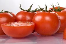 Free Tomatoes Stock Image - 5874021