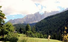 Free Sella Mountain And Woods, Stock Photo - 5874170