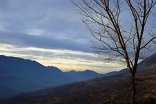 Autumn In Abruzzo Stock Images