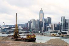 Free Hong Kong Skyline Royalty Free Stock Photography - 5874647