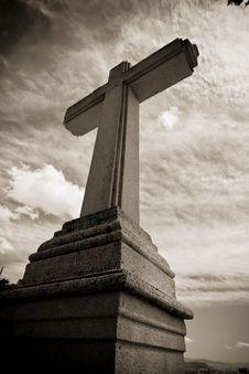 Free Stone Cross Stock Photo - 5875010