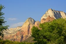 Free Zion National Park Royalty Free Stock Photo - 5875025