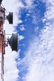 Free Telecommunication Antenna Stock Photography - 5875062