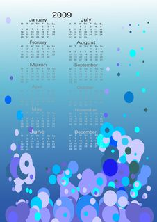 Free Calendar For The Next Year Royalty Free Stock Photos - 5875598