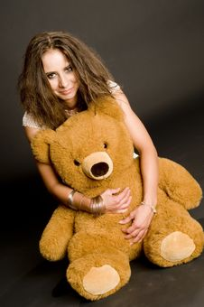 Free Me And My Teddy Royalty Free Stock Photo - 5875635