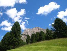 Free Mountain In Gardena Valley Stock Photos - 5875993