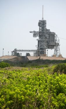 Kennedy Space Center Launch Complex 39 Stock Images