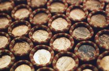 Free Pennies Royalty Free Stock Photos - 5877178