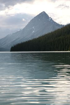 Maligne Lake Royalty Free Stock Images