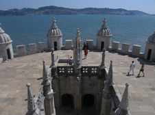 Free Torre Terrace, Belem Stock Photography - 5878582