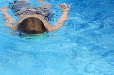 Free Water Swim Royalty Free Stock Images - 5879259