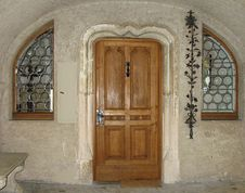 Free German Castle Doorway And Windows Royalty Free Stock Photo - 5879465