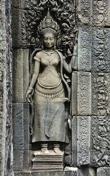 Free Cambodia Angkor Bayon Temple Stock Image - 5879661