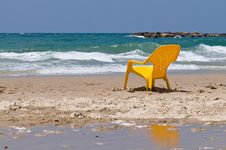 Free Lonely Chair Royalty Free Stock Photo - 5879965