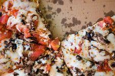 Free Pizza Closeup Stock Photography - 5879972